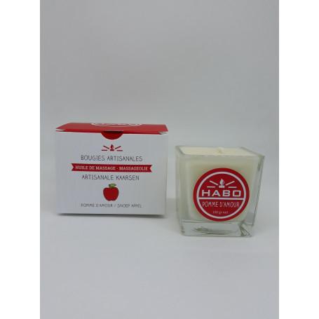 Bougie de massage Pomme d'Amour